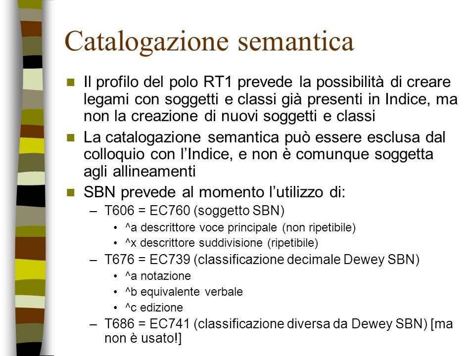 Catalogazione semantica