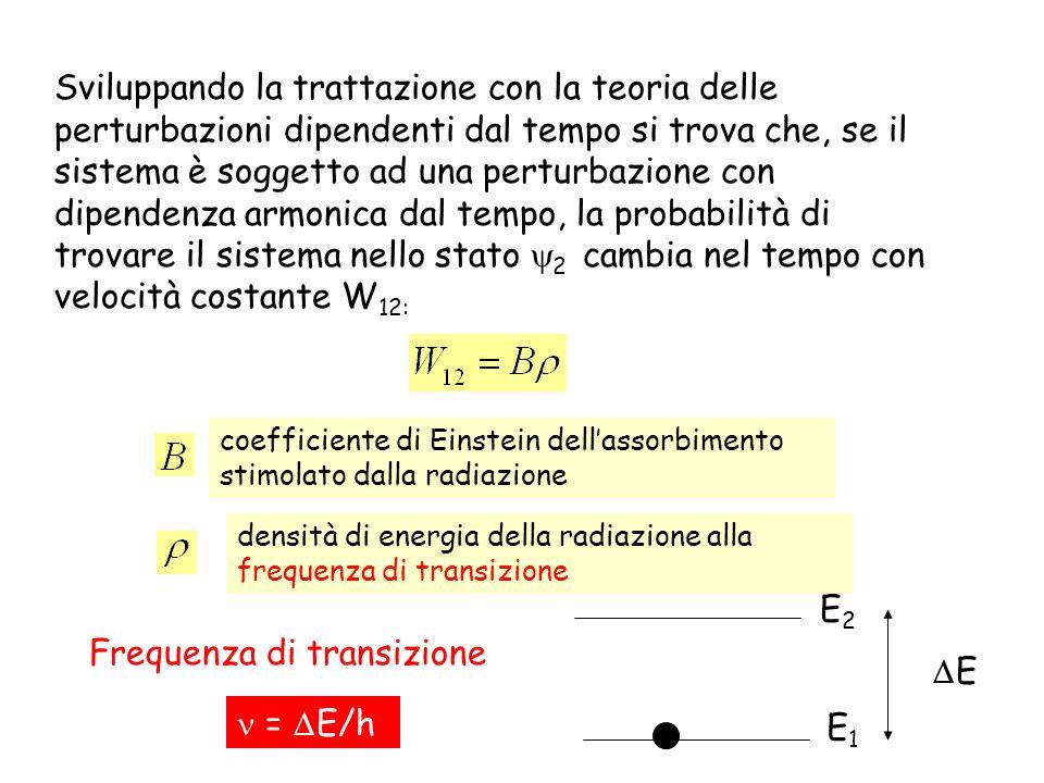Frequenza di transizione