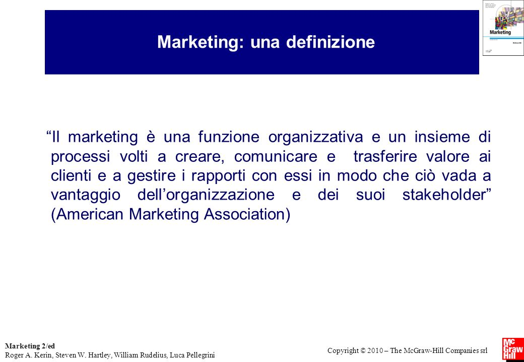 Marketing: una definizione