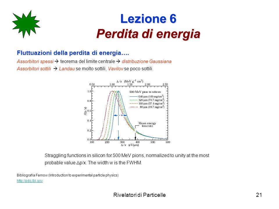 Lezione 6 Perdita di energia