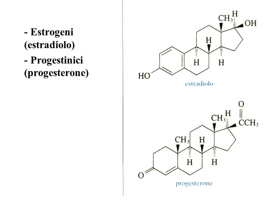- Estrogeni (estradiolo)