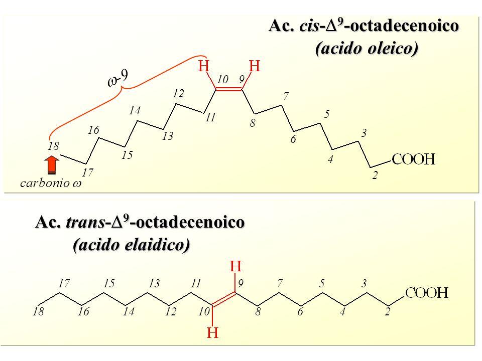 Ac. cis-D9-octadecenoico (acido oleico)