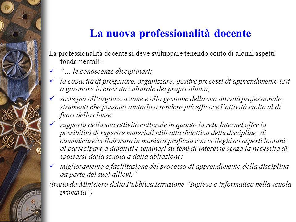 La nuova professionalità docente