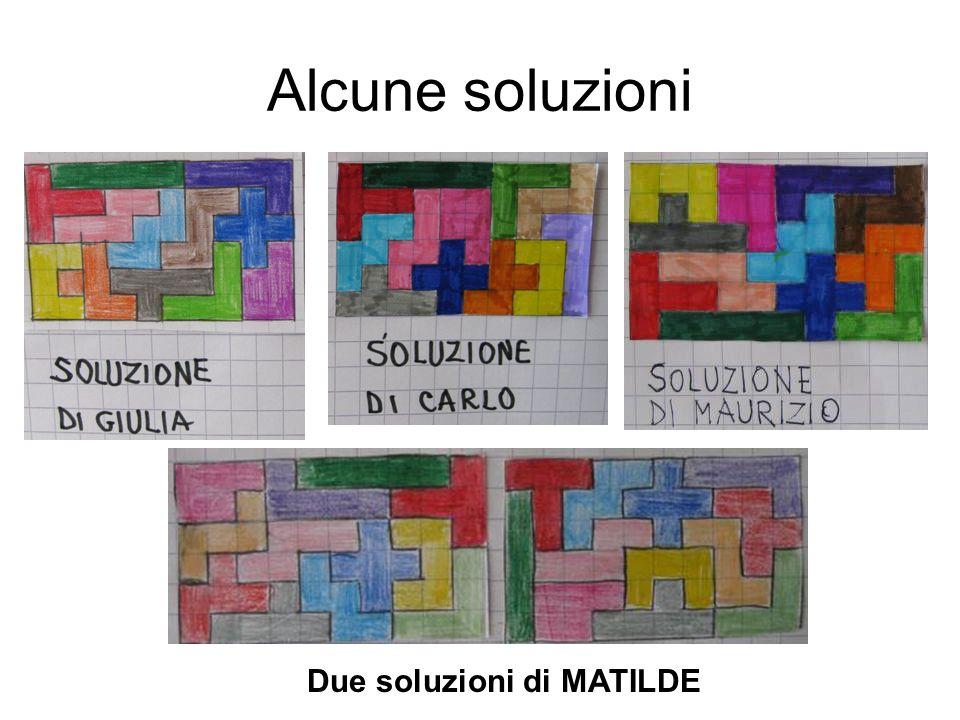 Due soluzioni di MATILDE