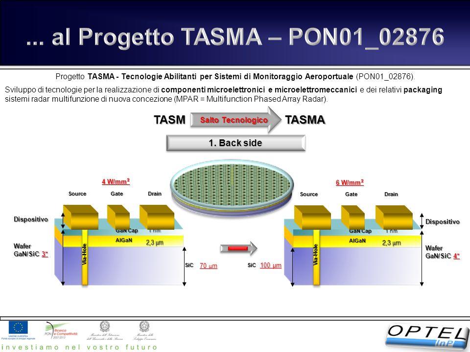 ... al Progetto TASMA – PON01_02876