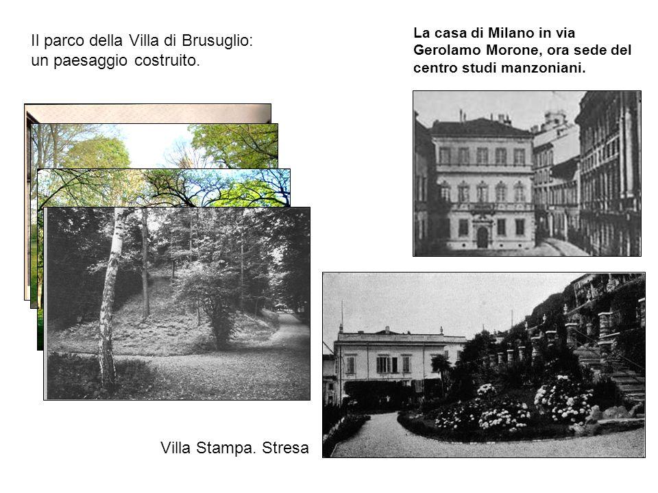 Il parco della Villa di Brusuglio: un paesaggio costruito.