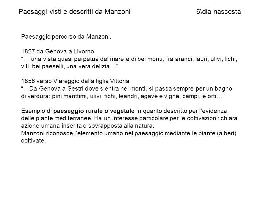 Paesaggi visti e descritti da Manzoni 6\dia nascosta