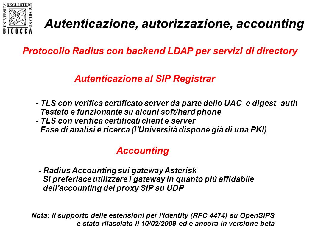 Autenticazione, autorizzazione, accounting