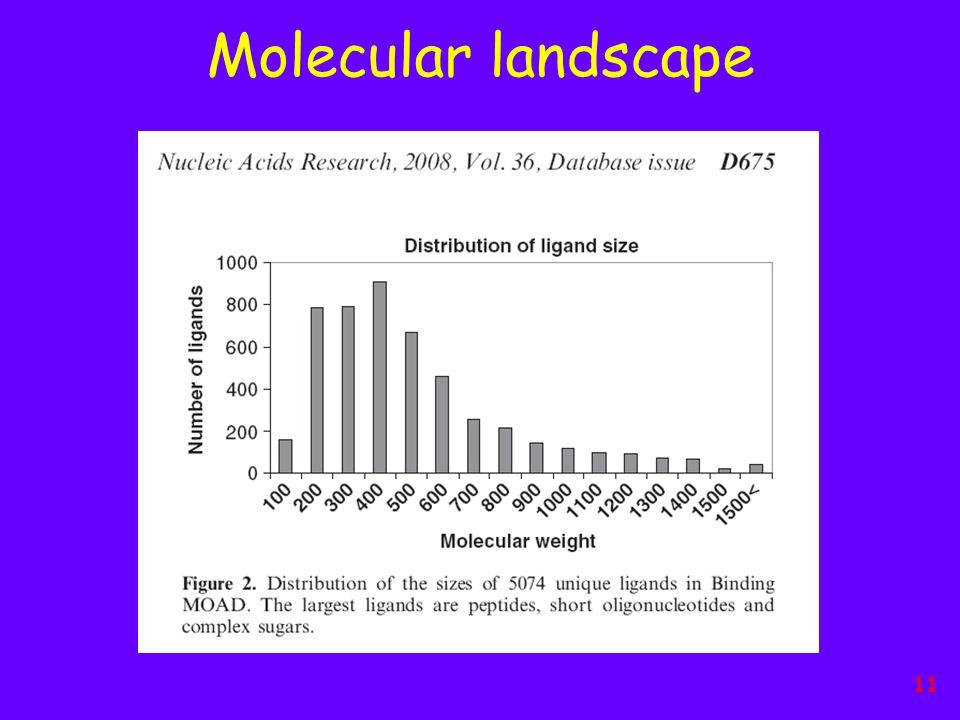 Molecular landscape