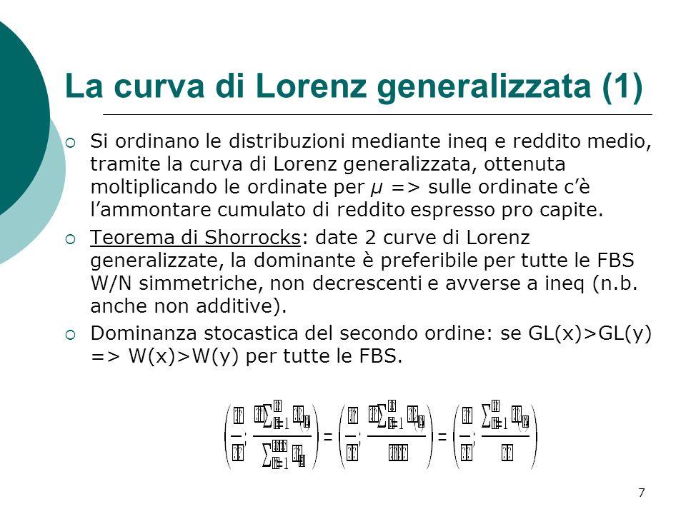 La curva di Lorenz generalizzata (1)