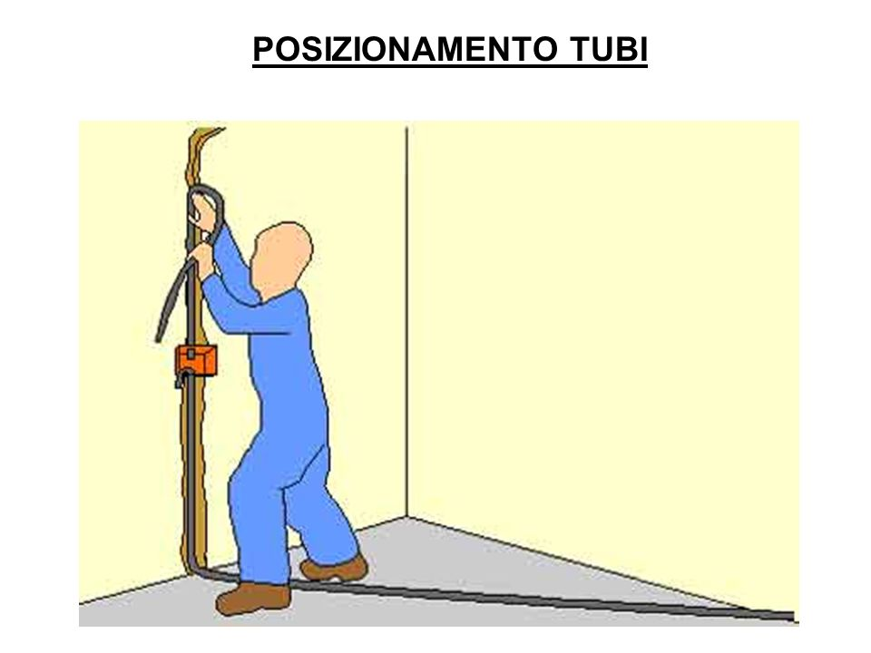 POSIZIONAMENTO TUBI
