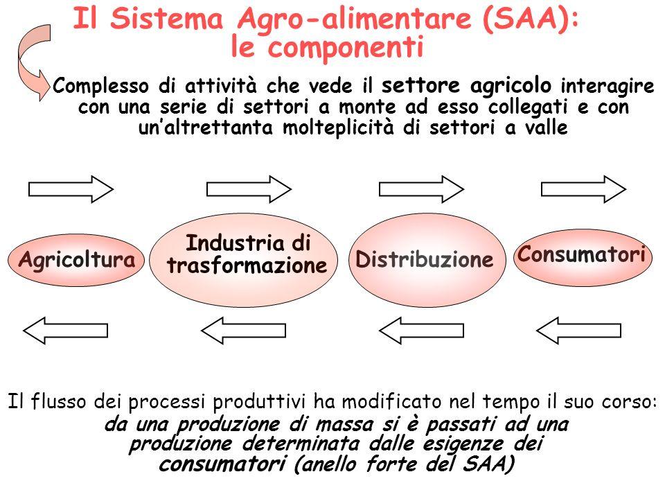 Il Sistema Agro-alimentare (SAA): le componenti