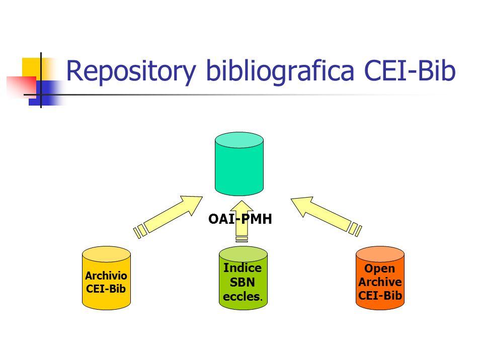 Repository bibliografica CEI-Bib