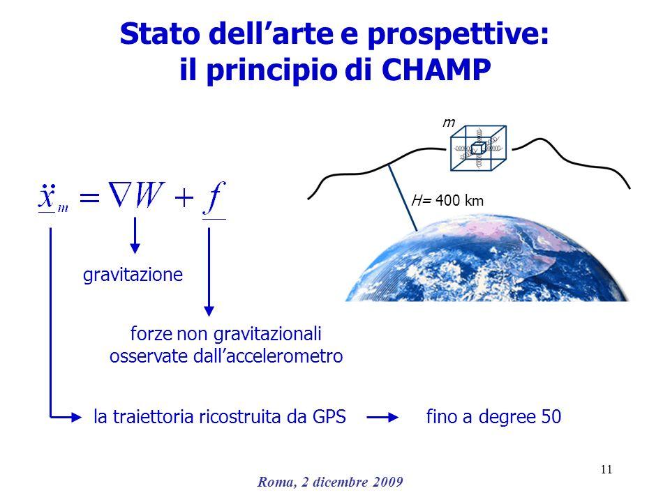 Stato dell'arte e prospettive: il principio di CHAMP