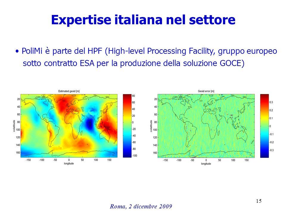 Expertise italiana nel settore
