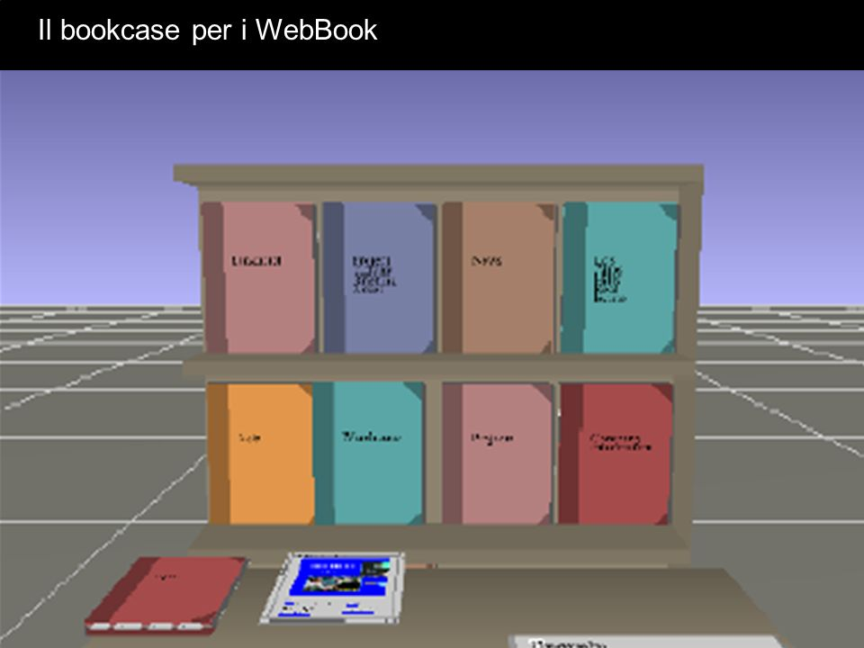 Il bookcase per i WebBook