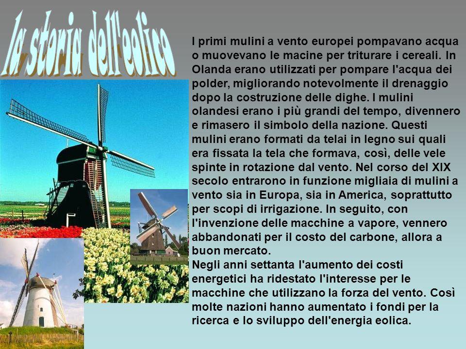 la storia dell eolico