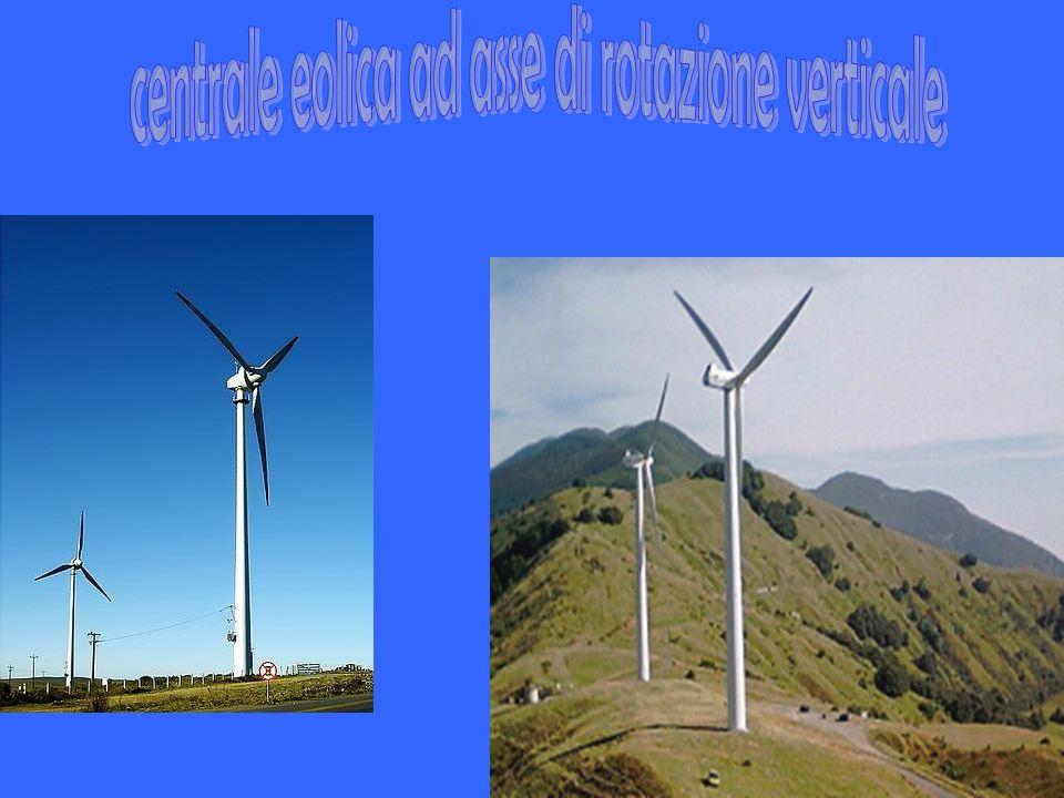 centrale eolica ad asse di rotazione verticale