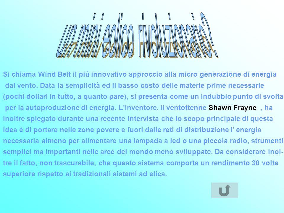 un mini eolico rivoluzionario