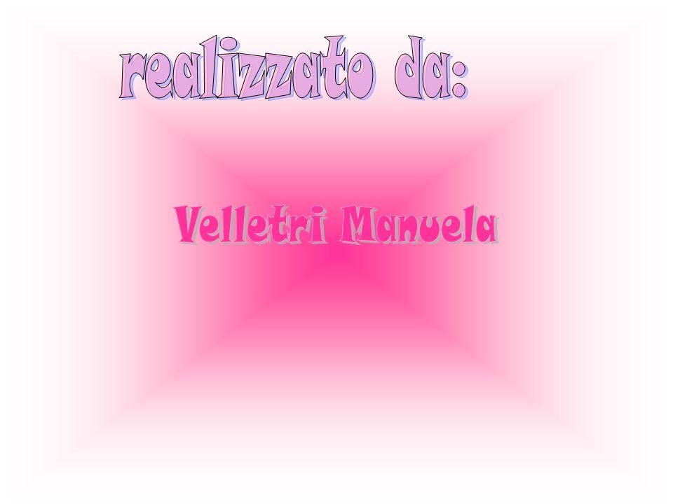 realizzato da: Velletri Manuela