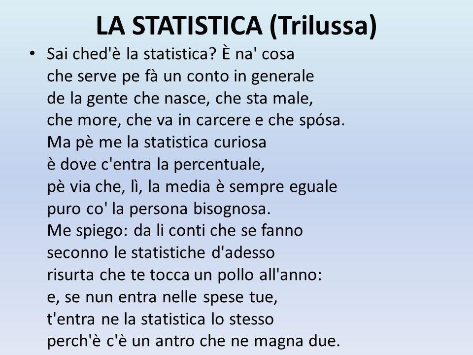 LA STATISTICA (Trilussa)
