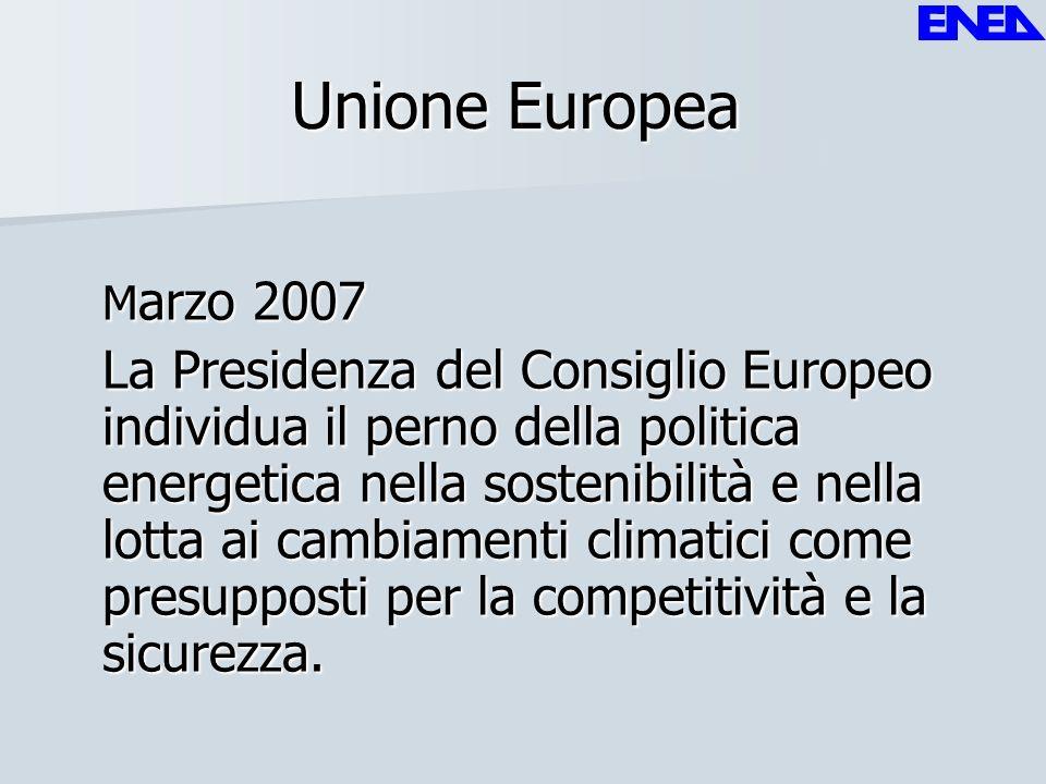 Unione Europea Marzo 2007.