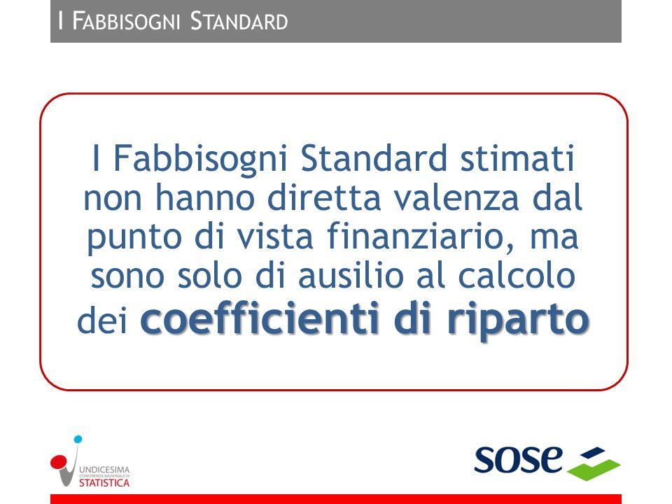 I Fabbisogni Standard