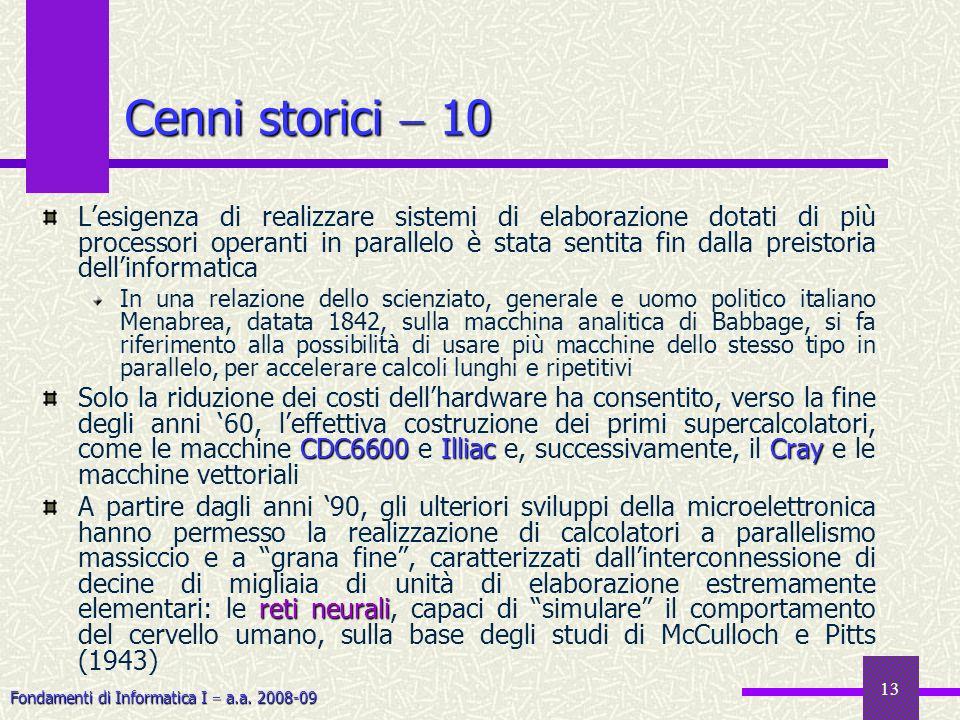 Cenni storici  10
