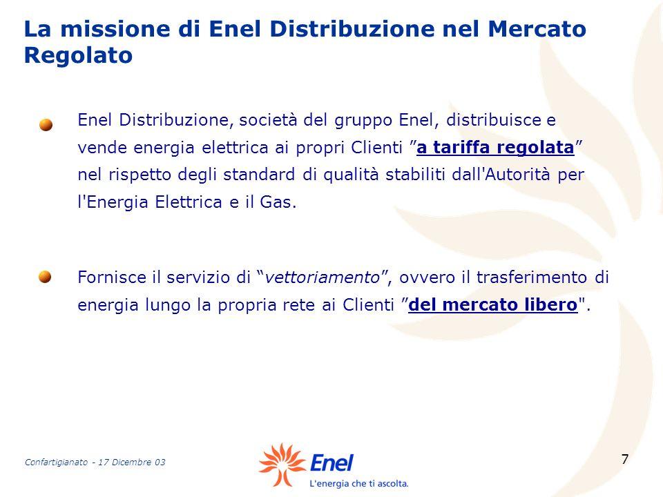 La missione di Enel Distribuzione nel Mercato Regolato