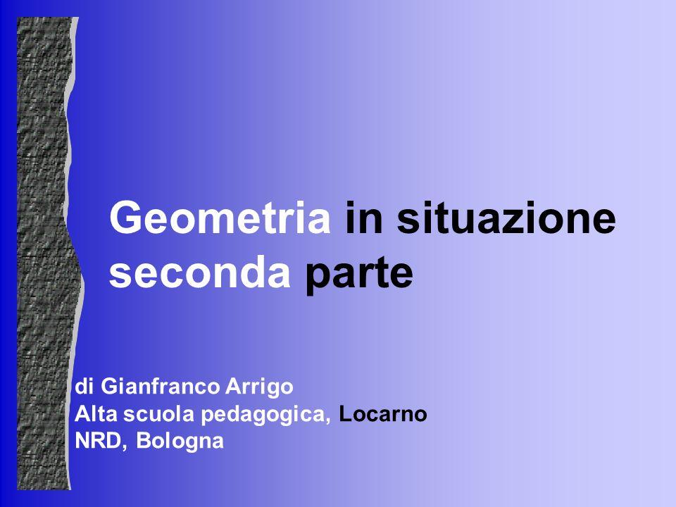 Geometria in situazione seconda parte