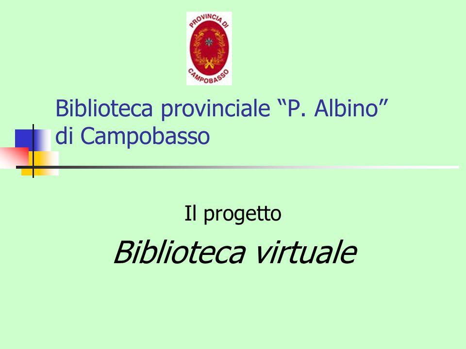 Biblioteca provinciale P. Albino di Campobasso