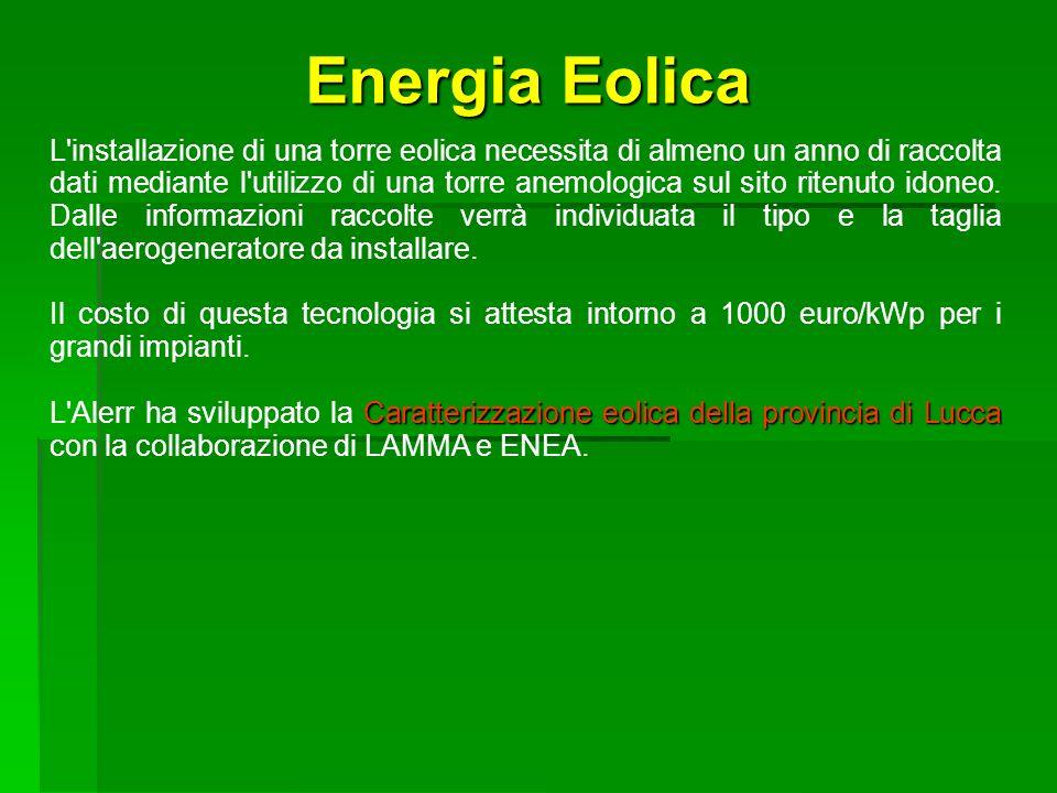SEA Progetti S.r.l. Energia Eolica.