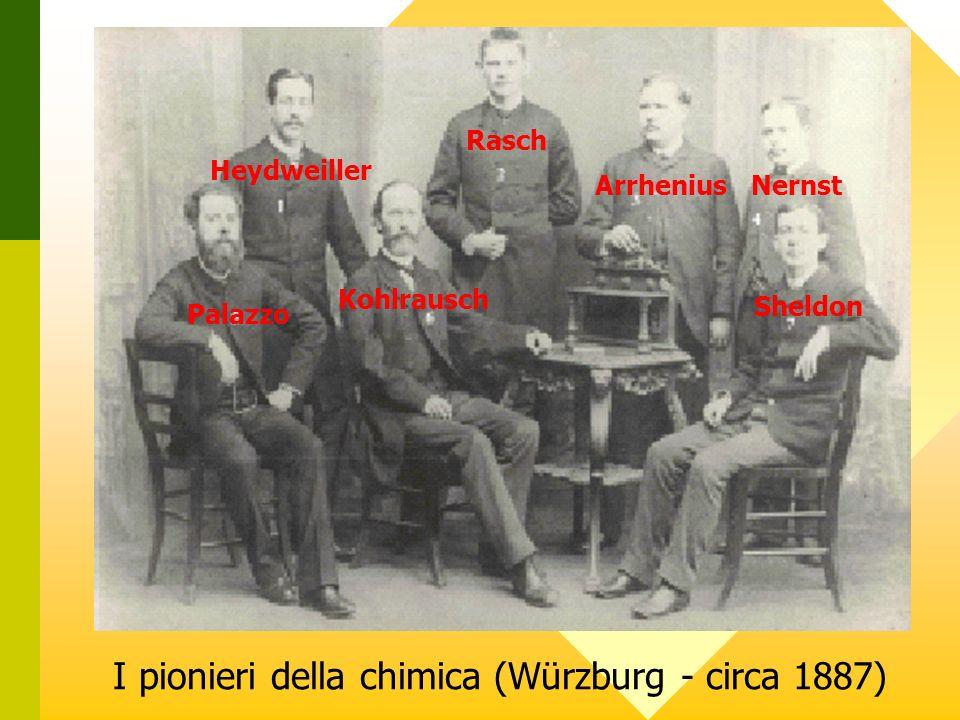 I pionieri della chimica (Würzburg - circa 1887)