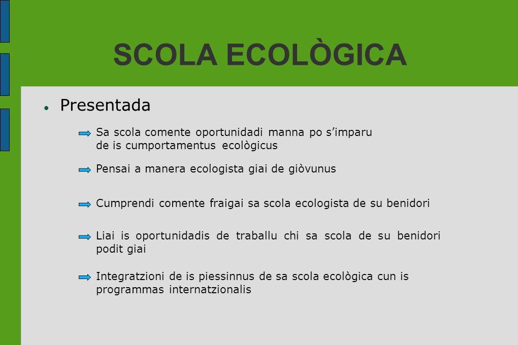 SCOLA ECOLÒGICA Presentada