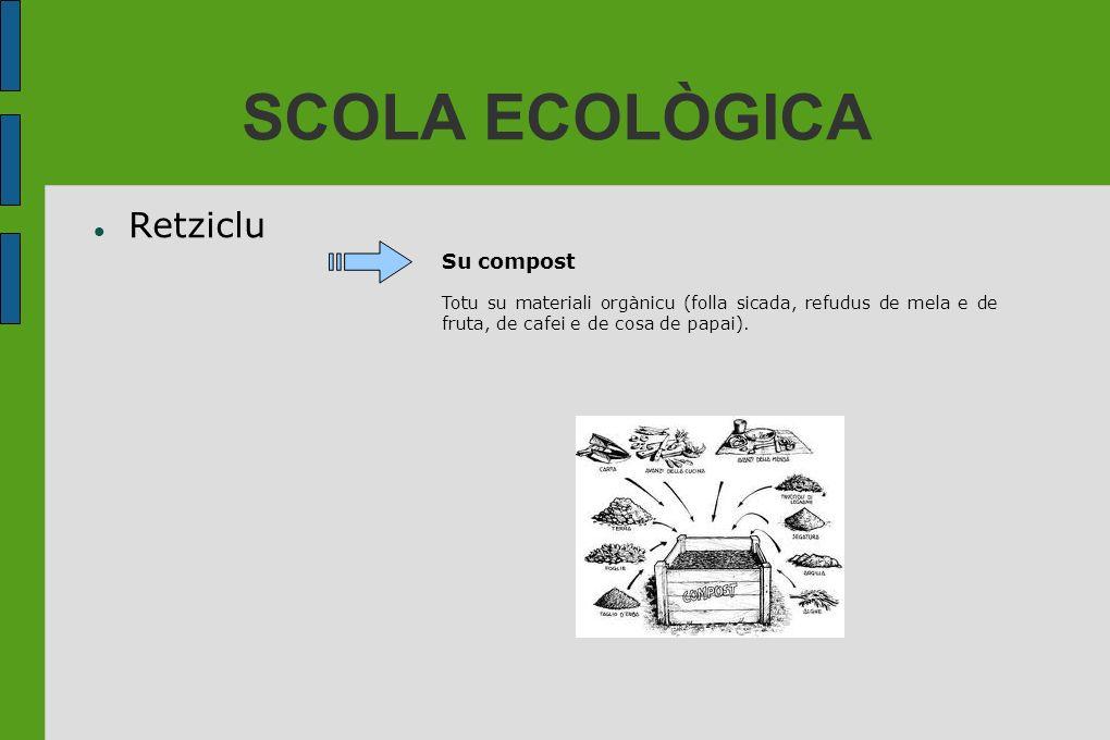 SCOLA ECOLÒGICA Retziclu Su compost