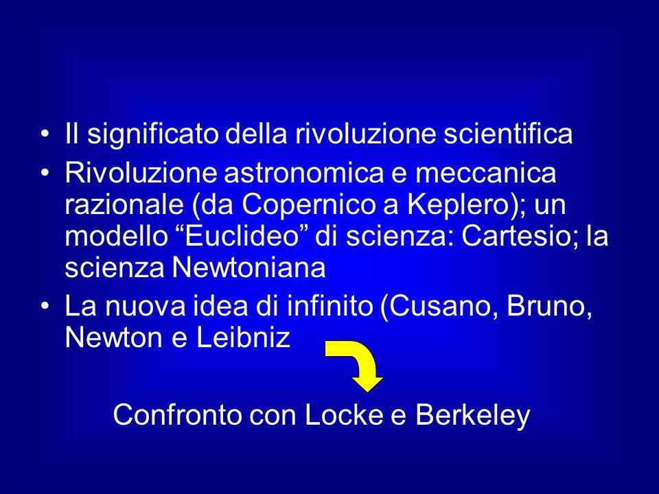 Il significato della rivoluzione scientifica