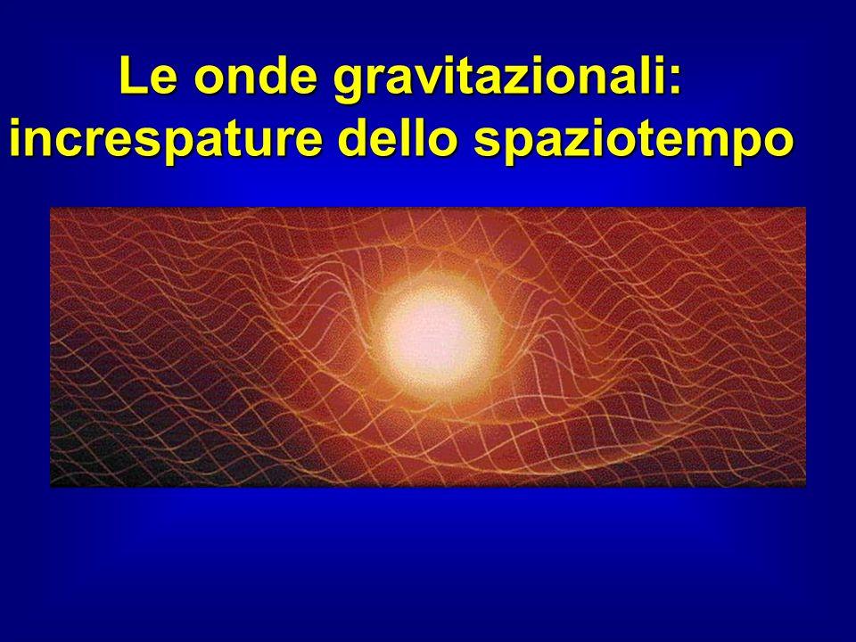 Le onde gravitazionali: increspature dello spaziotempo