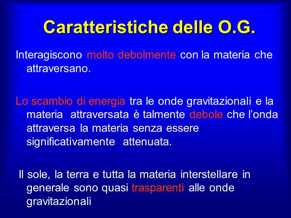 Caratteristiche delle O.G.