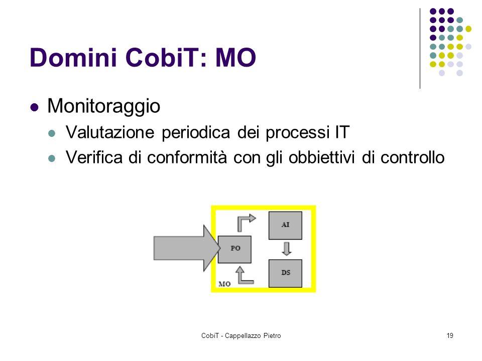 CobiT - Cappellazzo Pietro