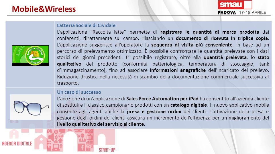 Mobile&Wireless Latteria Sociale di Cividale