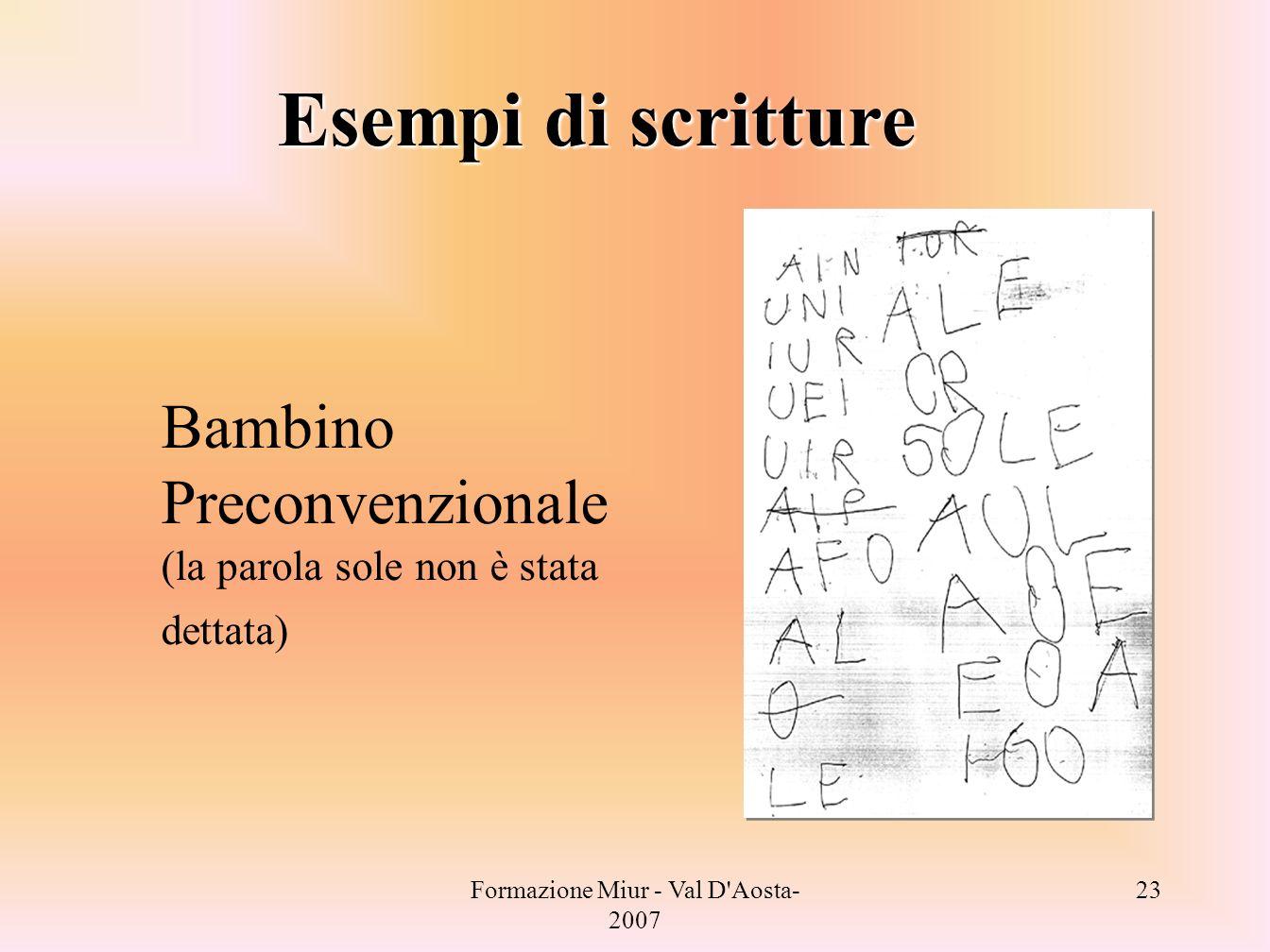 Formazione Miur - Puglia- 2006