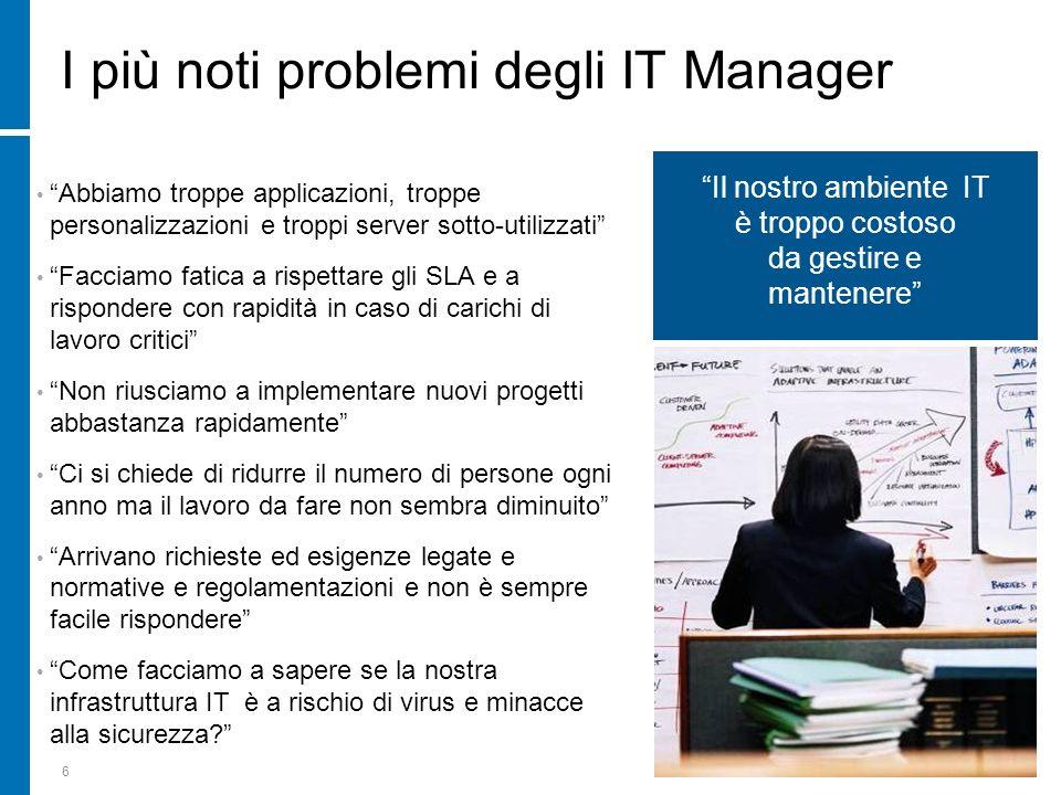 I più noti problemi degli IT Manager