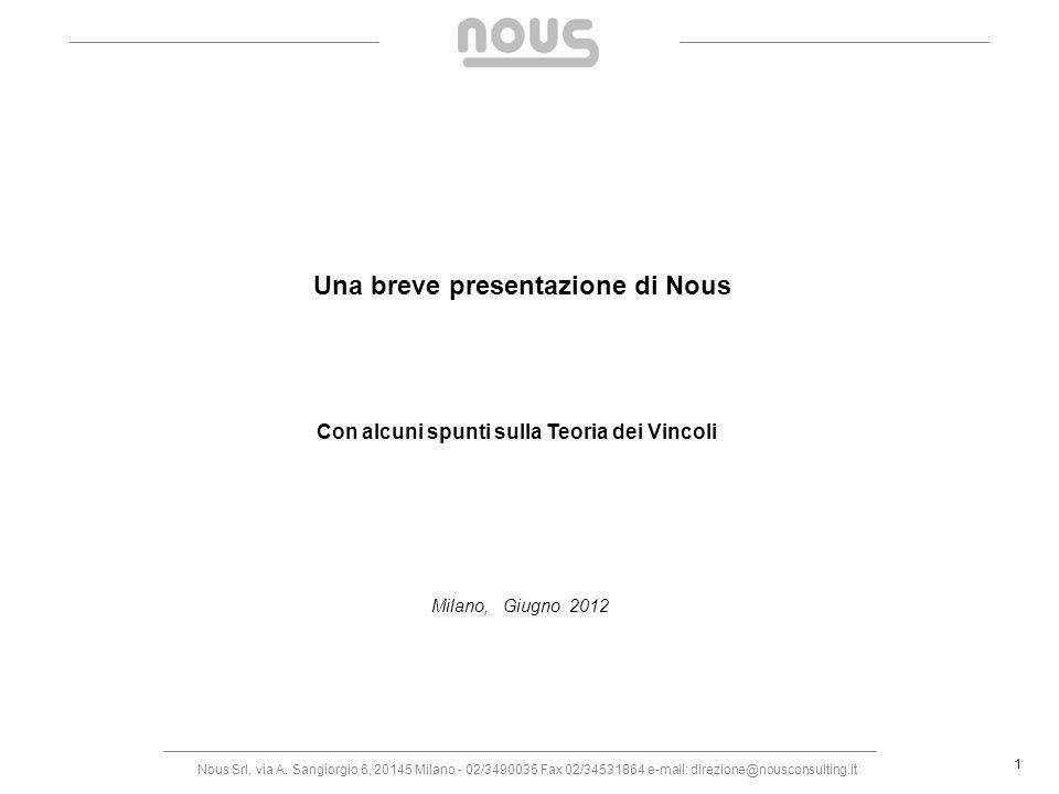 Una breve presentazione di Nous
