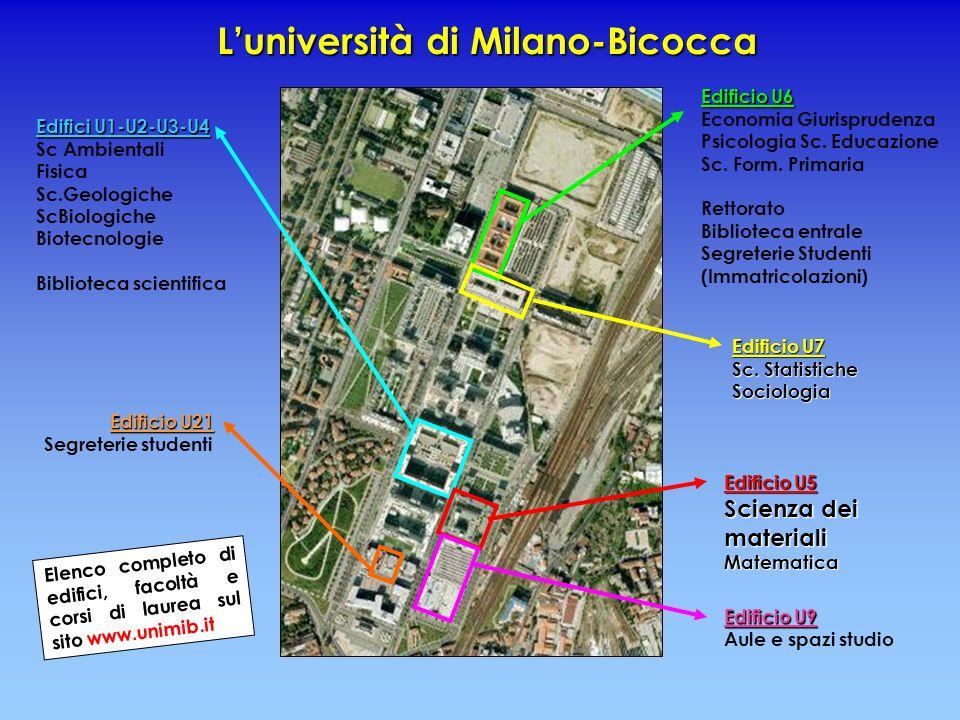 L'università di Milano-Bicocca