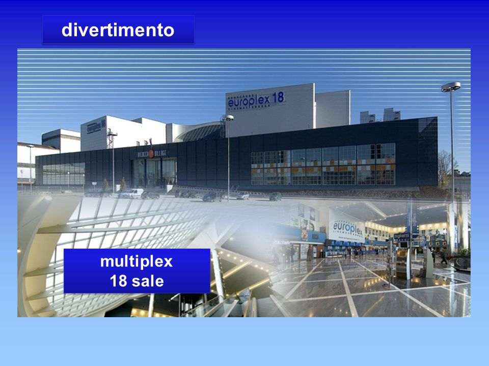 divertimento multiplex 18 sale