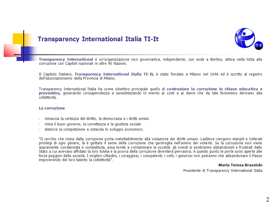 Transparency International Italia TI-It