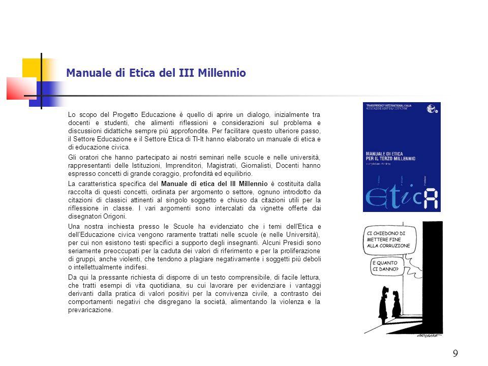 Manuale di Etica del III Millennio