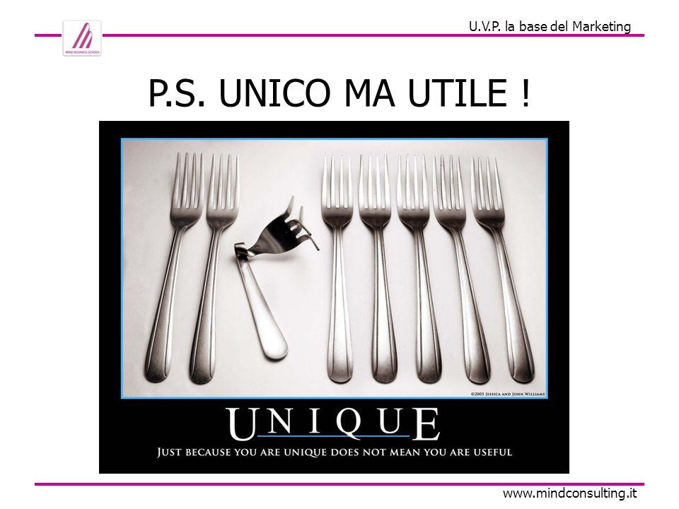 U.V.P. la base del Marketing