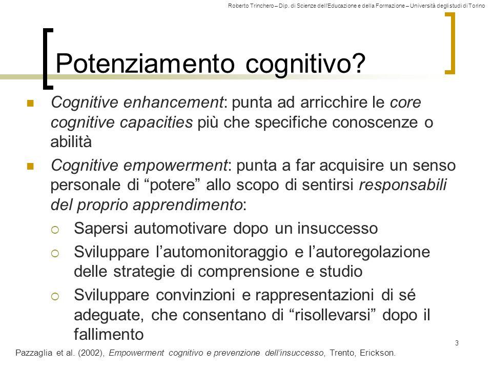 Potenziamento cognitivo