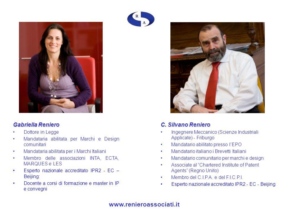 www.renieroassociati.it Gabriella Reniero C. Silvano Reniero